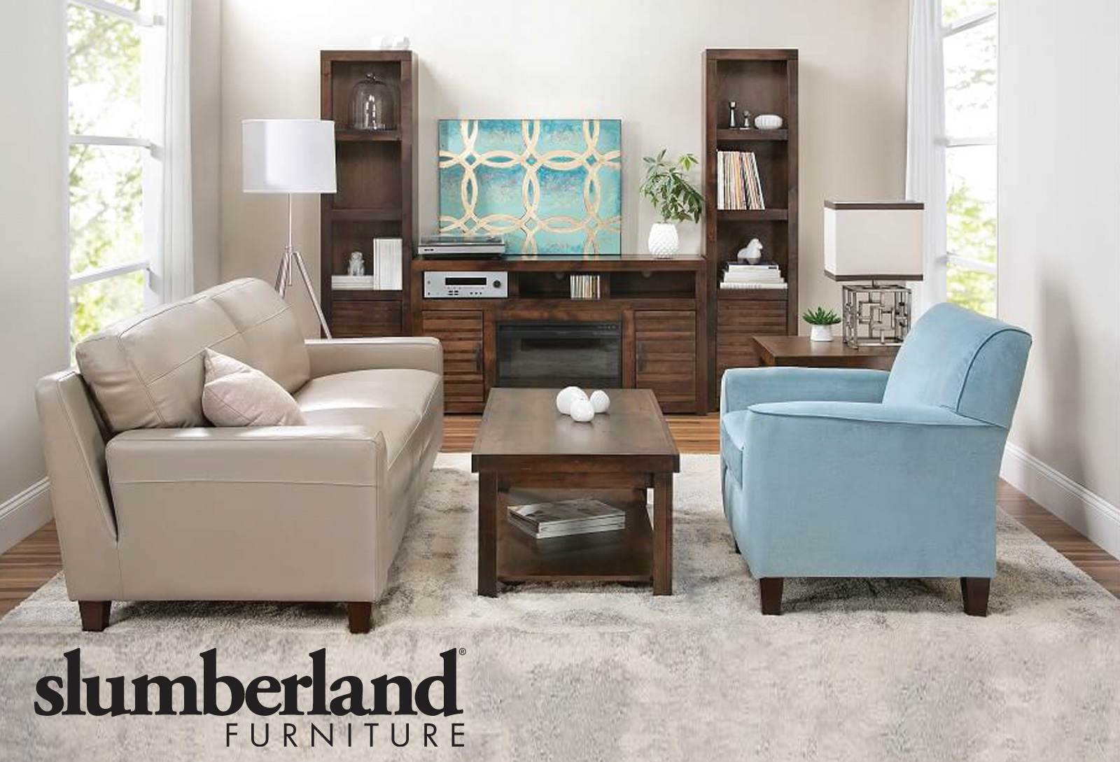 Slumberland Furniture Mission and Values. Our mission is to improve the life of each customer. We strive to uphold this promise through our products, our service, and our company values.