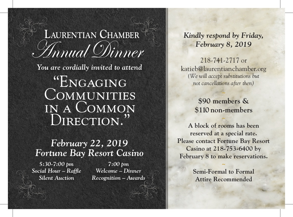 """Annual Dinner - """"Engaging Communities In A Common Direction."""""""