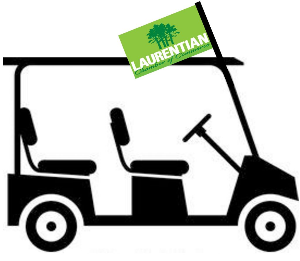 Laurentian Golf Cart & Flag