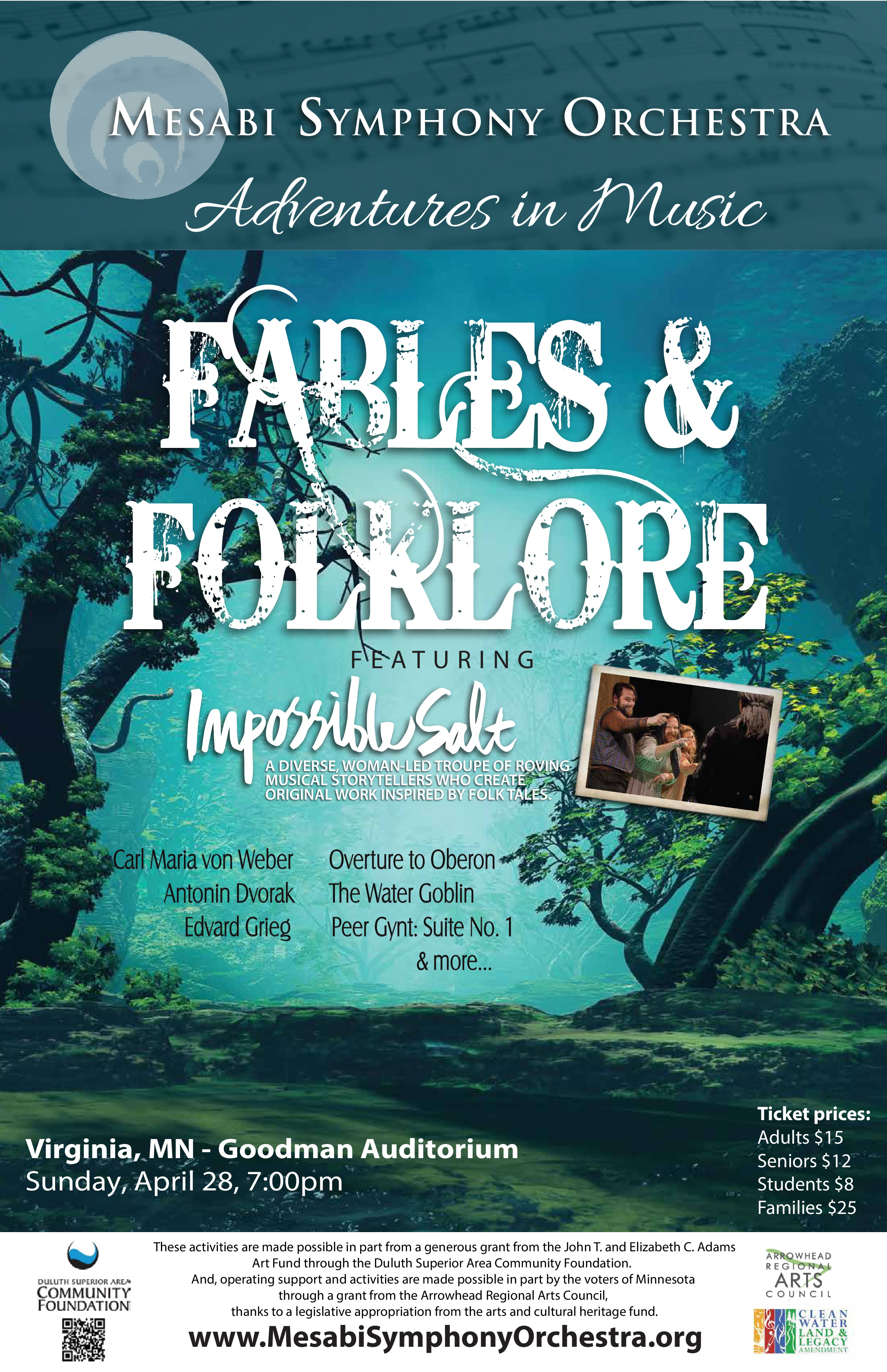 FABLES & FOLKLORE POSTER