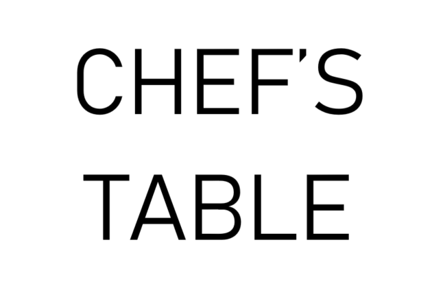 Chef's Table: Night by the Smoker