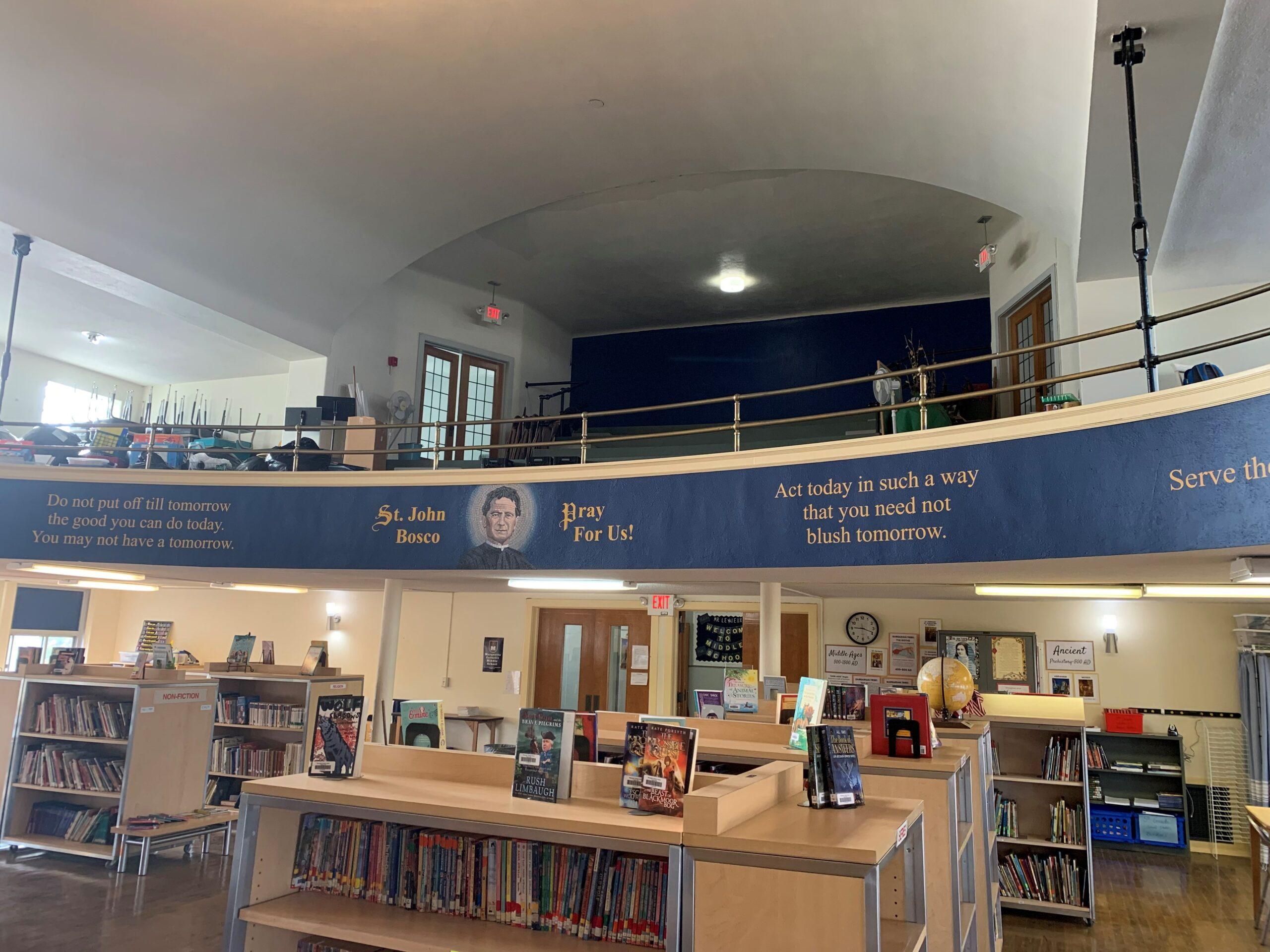 Marquette Catholic School library